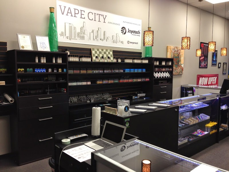 Vape City in Maumelle - 13120 Crystal Hill Rd. Suite: J, N. Little Rock, AR 72113(501) 812-0369Store Hours: Mon - Sat 11am - 7pmSunday - Closed