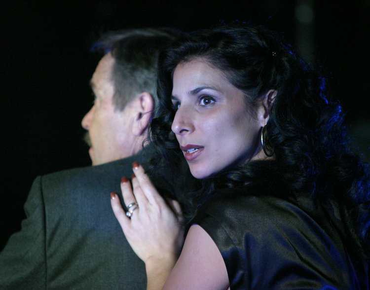 "Photo: Tim Matheson  ""Playing a rebellious rich woman named Saniya, Laara Sadiq is lethally sexy""   -Colin Thomas The Georgia Straight"