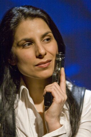"""Photo: Tim Matheson  """"Sylvie, played by Laara Sadiq with a snarly sort of Jennifer Saunders tone to her voice, is vile little thing""""   -Peter Birnie, Vancouver Sun"""