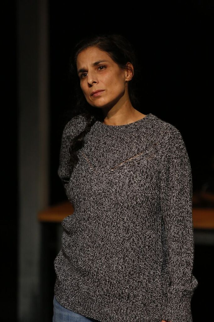 Happy Place 2017 - 'I was knocked out by Laara Sadiq's performance as the insinuating, unbalanced Nina. I've been watching Sadiq for decades and I've never seen anything like this reptilian texture.'- colinthomas.ca'It's hard to imagine a more dynamic group of actors.'- Jo Ledingham, Westender'Laara Sadiq's Nina...studies in containment and release.'- Kathleen Oliver, The Georgia StraightPhoto: Tim Matheson