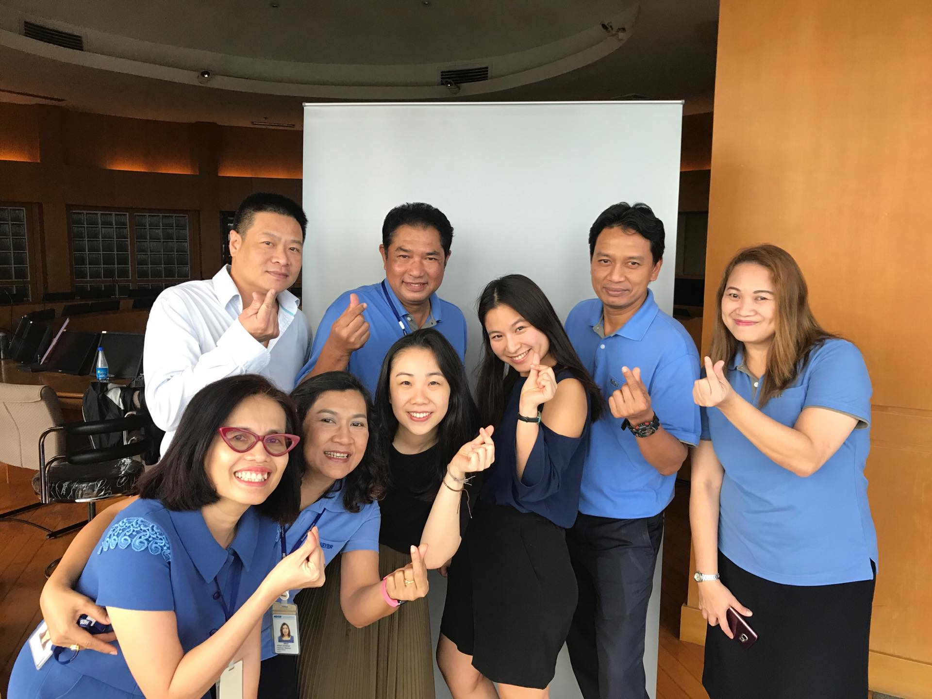 Say hello to our sweet co-workers from Thailand