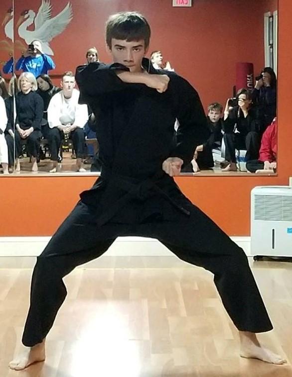 Connor Skelton - InstructorBlack Belt, Second Dan TSDSpirit Animal: Red Fox