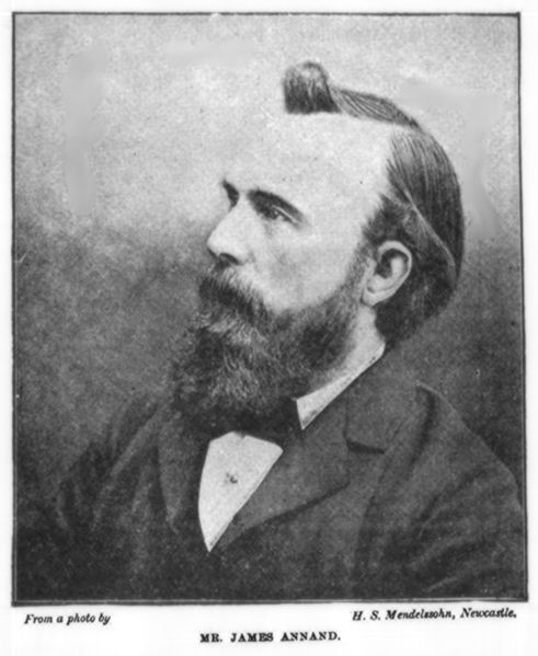 James Annand (1843 – 6 February 1906) was a Scottish journalist, newspaper editor and Liberal Party politician.