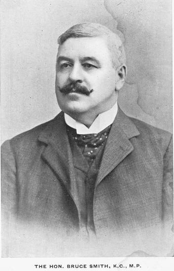 Arthur Bruce Smith  (1851 –  1937) was a long serving Australian politician and leading political opponent of the White Australia policy.