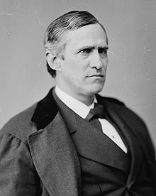 Thomas Francis Bayard (1828 – 1898) was an American lawyer and politician from Wilmington, Delaware. He was a member of the Democratic Party, who served three terms as U.S. Senator from Delaware, and as U.S. Secretary of State, and U.S. Ambassador to the United Kingdom.