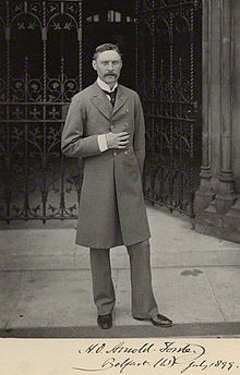 Hugh Oakeley Arnold-Forster (1855 – 1909) was a British politician and writer. He notably served as Secretary of State for War from 1903 to 1905.