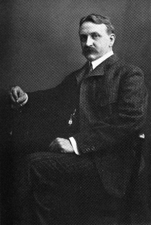 Henry Carter Adams (1851 – 1921) was a U.S. economist. In 1887, he became professor of political economy and finance at the University of Michigan, and taught there from 1886 to 1921. There, he also worked with John Dewey.