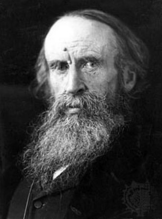 Sir Leslie Stephen (1832 – 1904) was an English author, critic and mountaineer, and the father of Virginia Woolf and Vanessa Bell.