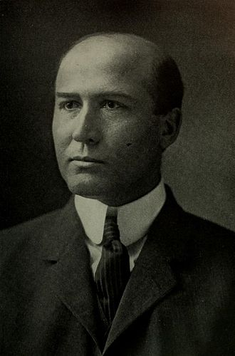 Thomas Nixon Carver (1865 – 1961) was an American economics professor. He was Secretary-Treasurer of the American Economic Association (1909–13) and was elected its President in 1916.