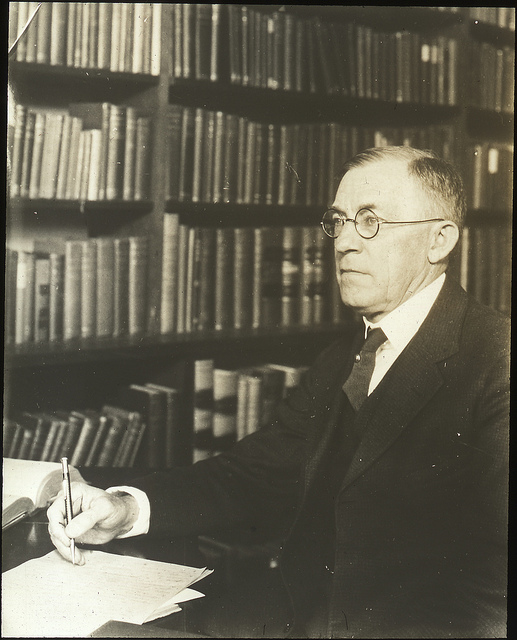 Westel Woodbury Willoughby (1867 – 1945), was an American academic. At the urging of Professor Willoughby, Johns Hopkins created the first department of Political Science under his leadership and with him as the only professor. He helped to found the American Political Science Association and served as its 10th President.