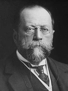Sir Paul Vinogradoff (1854 – 1925) was a highly reputable Anglo-Russian historian and medievalist. In 1903 he was appointed Corpus professor of jurisprudence in the University of Oxford, and subsequently became a fellow of the British Academy.