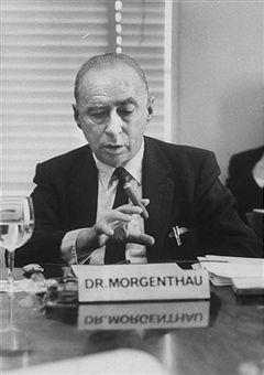 Hans Joachim Morgenthau (1904 – 1980) was one of the leading twentieth-century figures in the study of international politics. He made landmark contributions to international relations theory and the study of international law, and his  Politics Among Nations , first published in 1948, went through five editions during his lifetime.