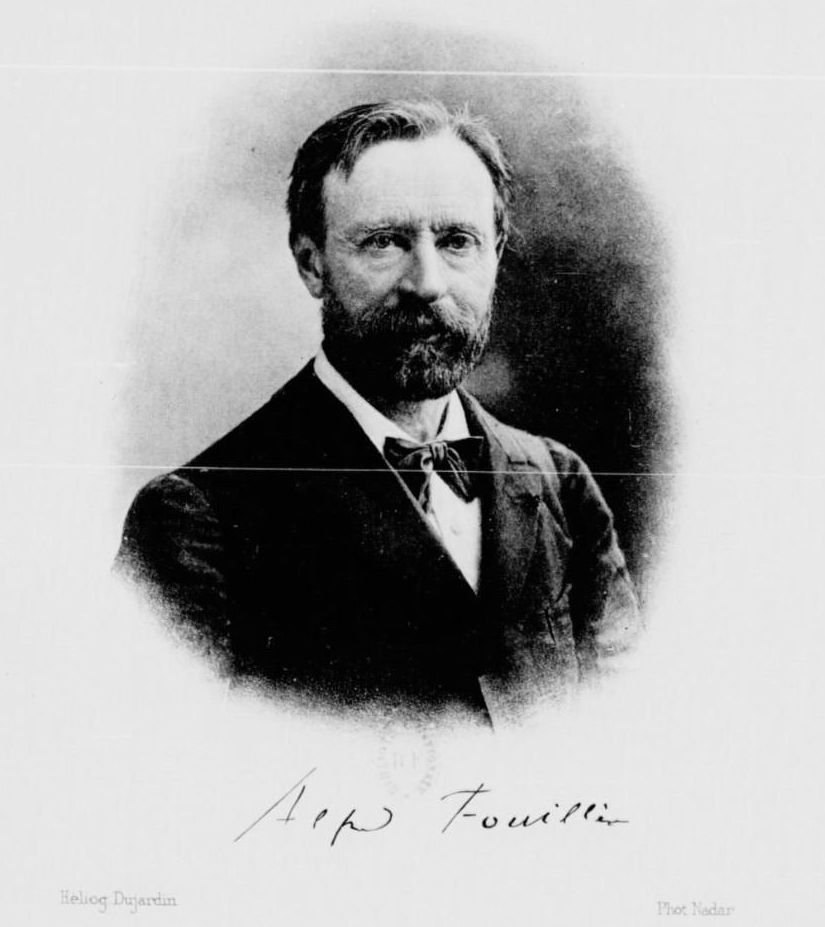 Alfred Jules Émile Fouillée (1838 – 1912) was a French philosopher.