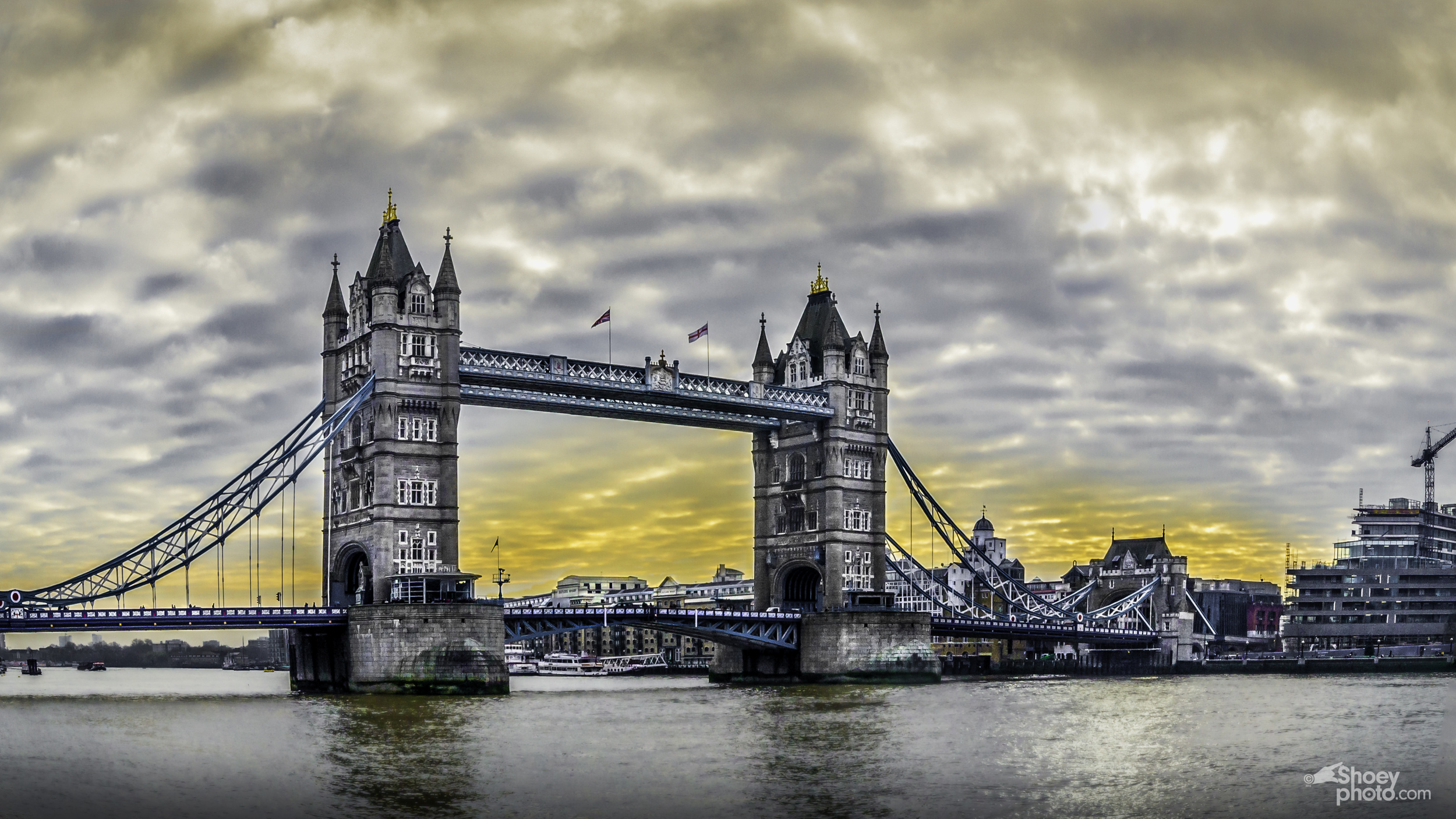 Tower Bridge at Daybreak