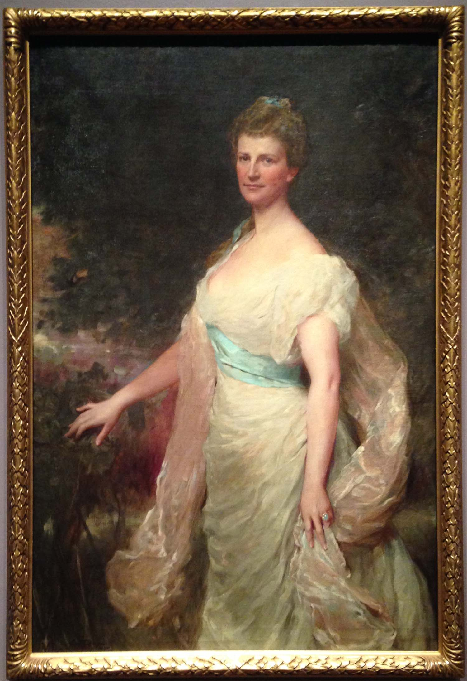 Mrs. Middleton Shoolbred Burrill , 1899; Benjamin Curtis Porter