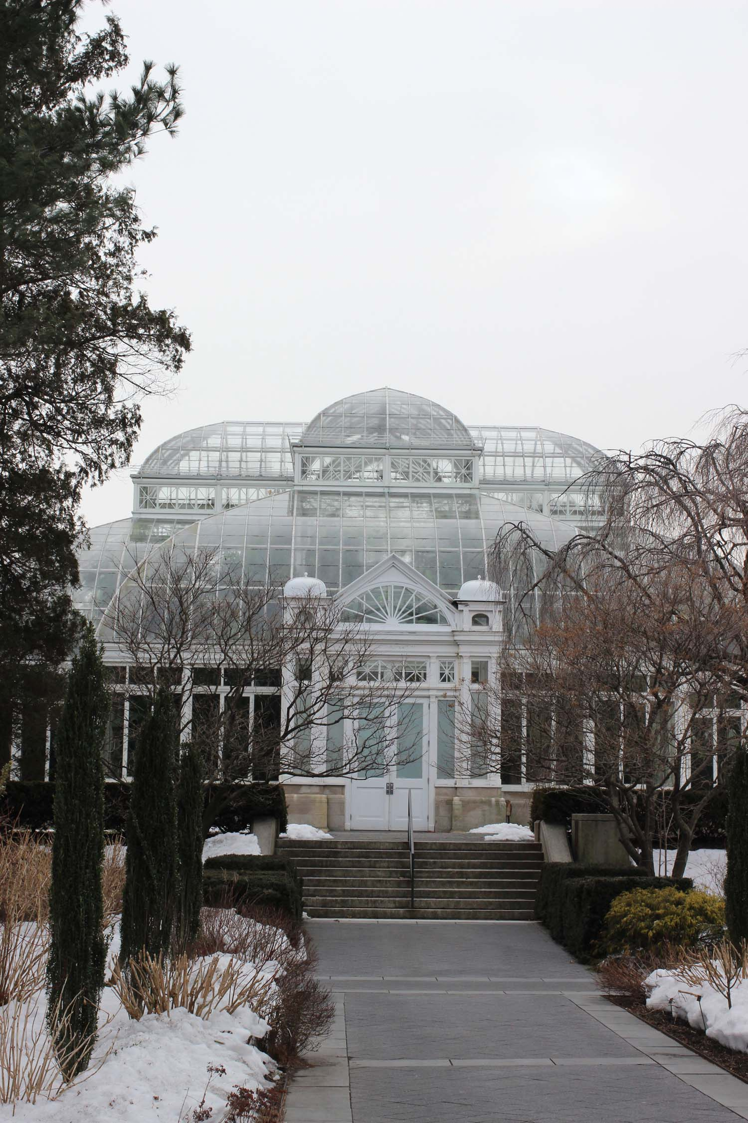Enid A. Haupt Conservatory ; Image: Laura Messersmith