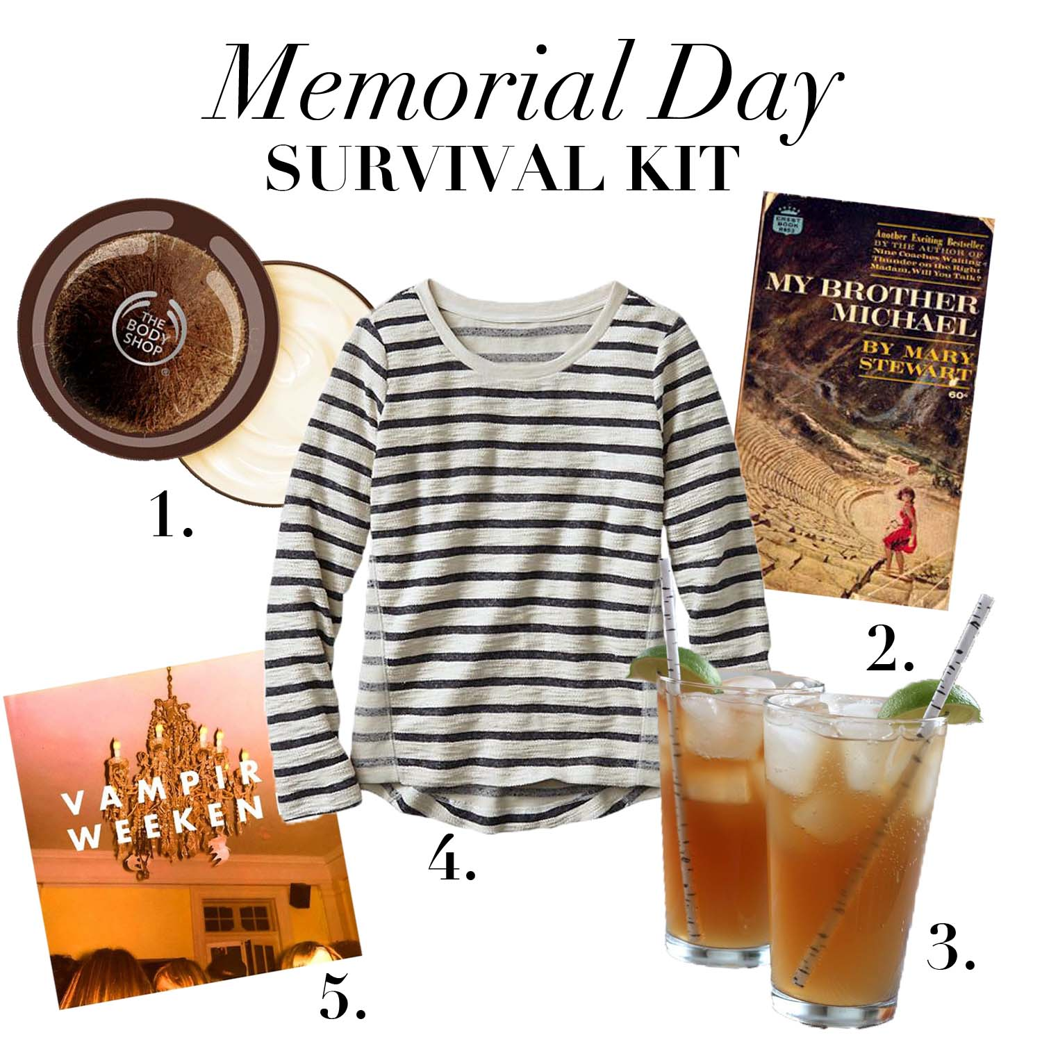 Memorial Day Survival Kit | Design: Laura Messersmith