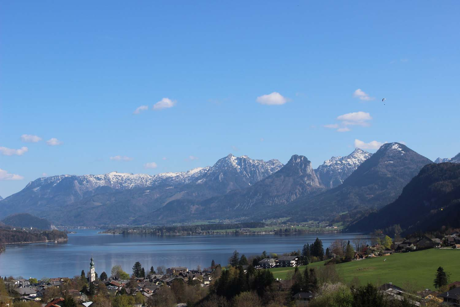 St. Gilgen and Lake Wolfgang, Austria  | Image:  Laura Messersmith