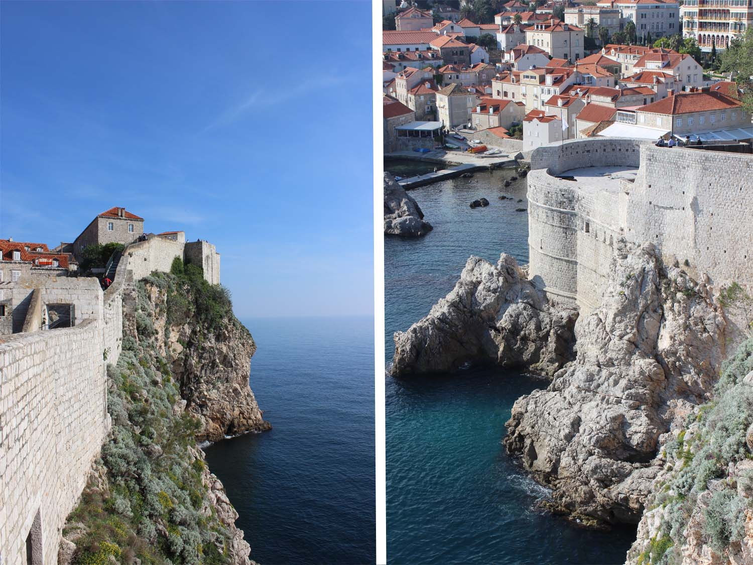 The Wall, Old Town Dubrovnik | Images: Laura Messersmith