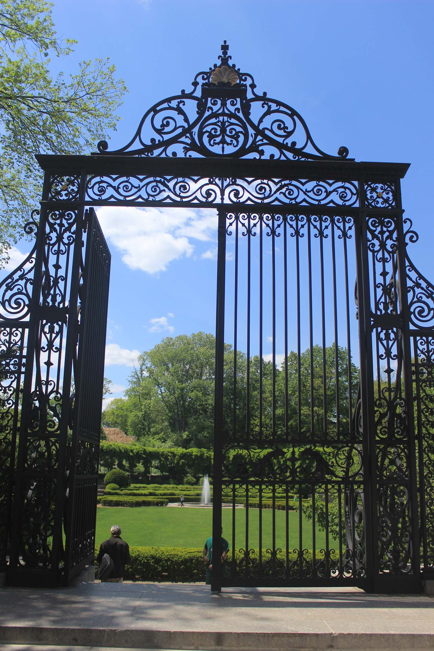 Vanderbilt Gate Central Park Conservatory Garden | Image: Laura Messersmith