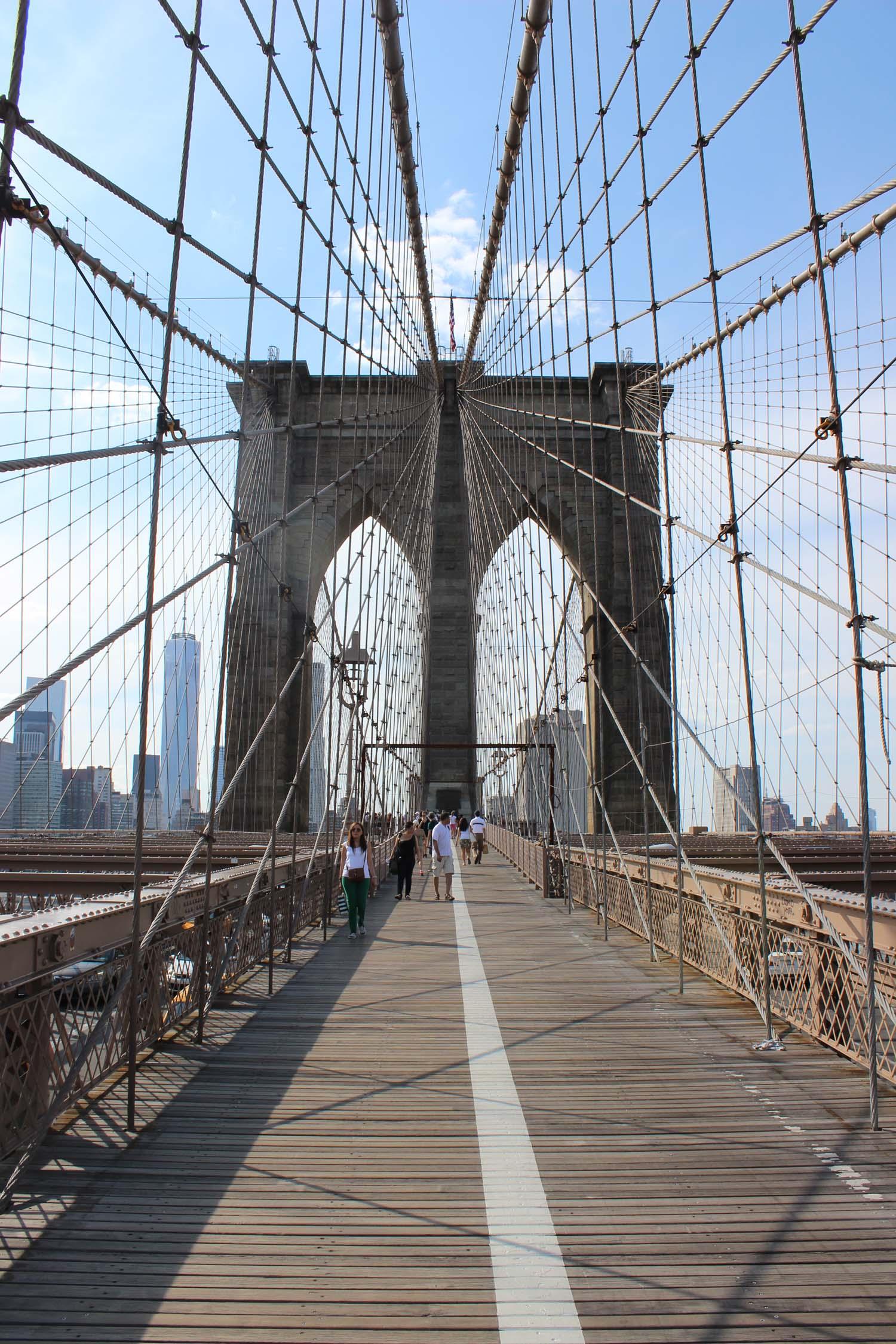 Brooklyn Bridge | Image: Laura Messersmith