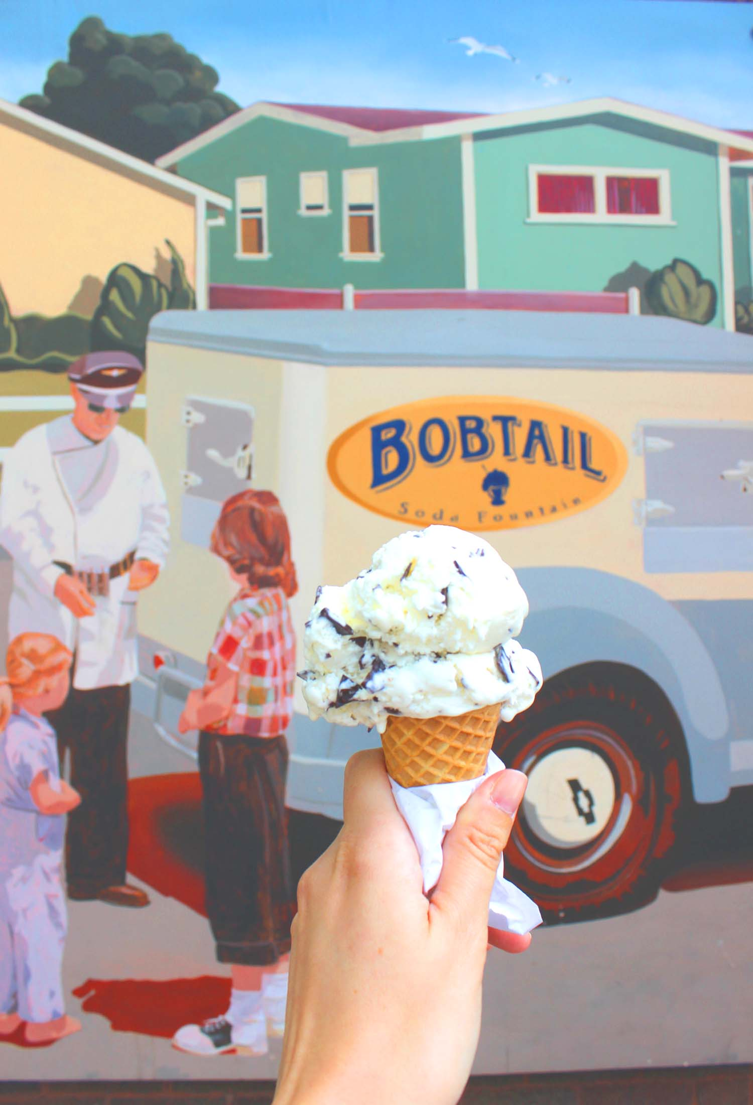 Mint Chip by Bobtail Ice Cream  | Image:  Laura Messersmith