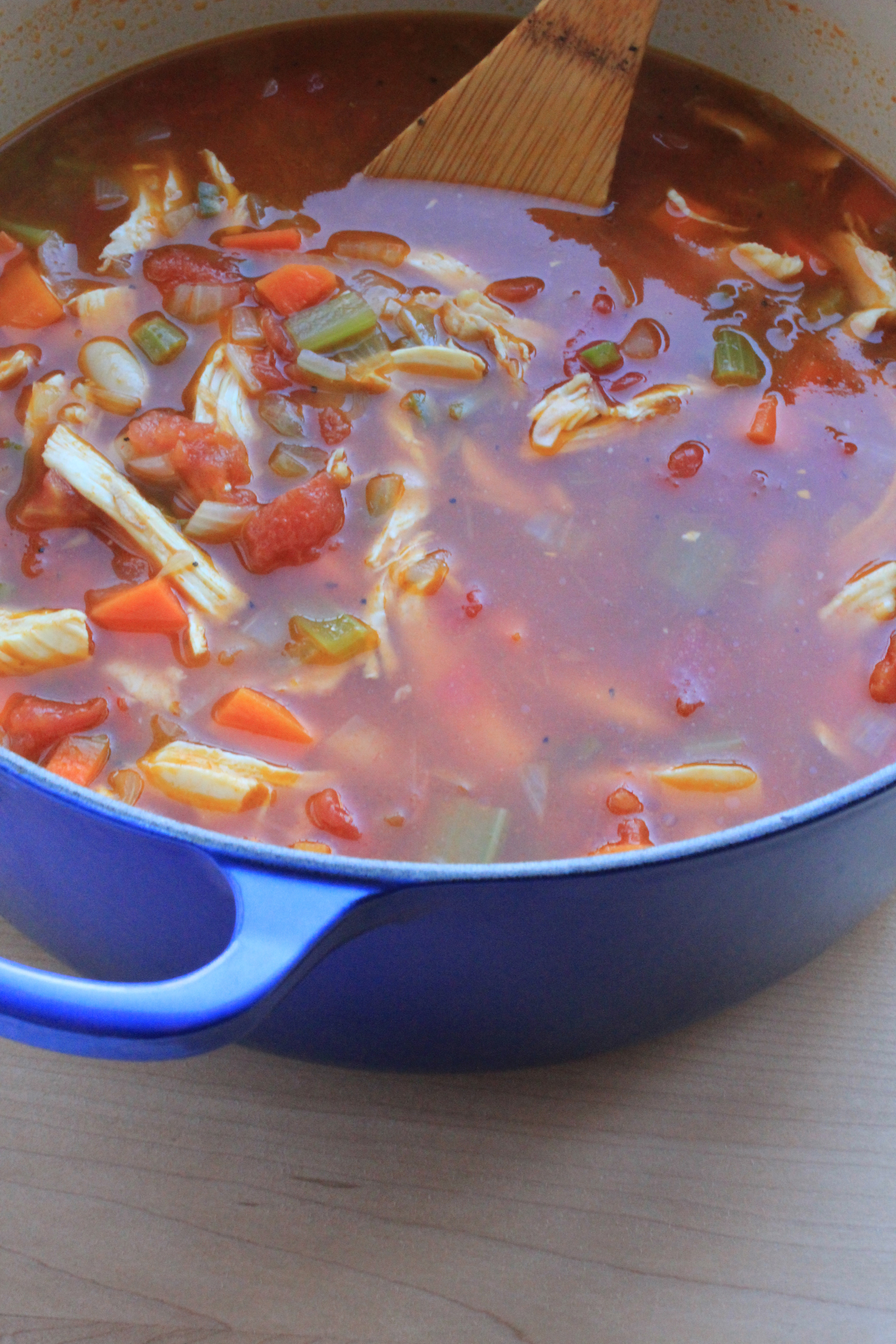 Mexican Chicken Soup  | Image:  Laura Messersmith