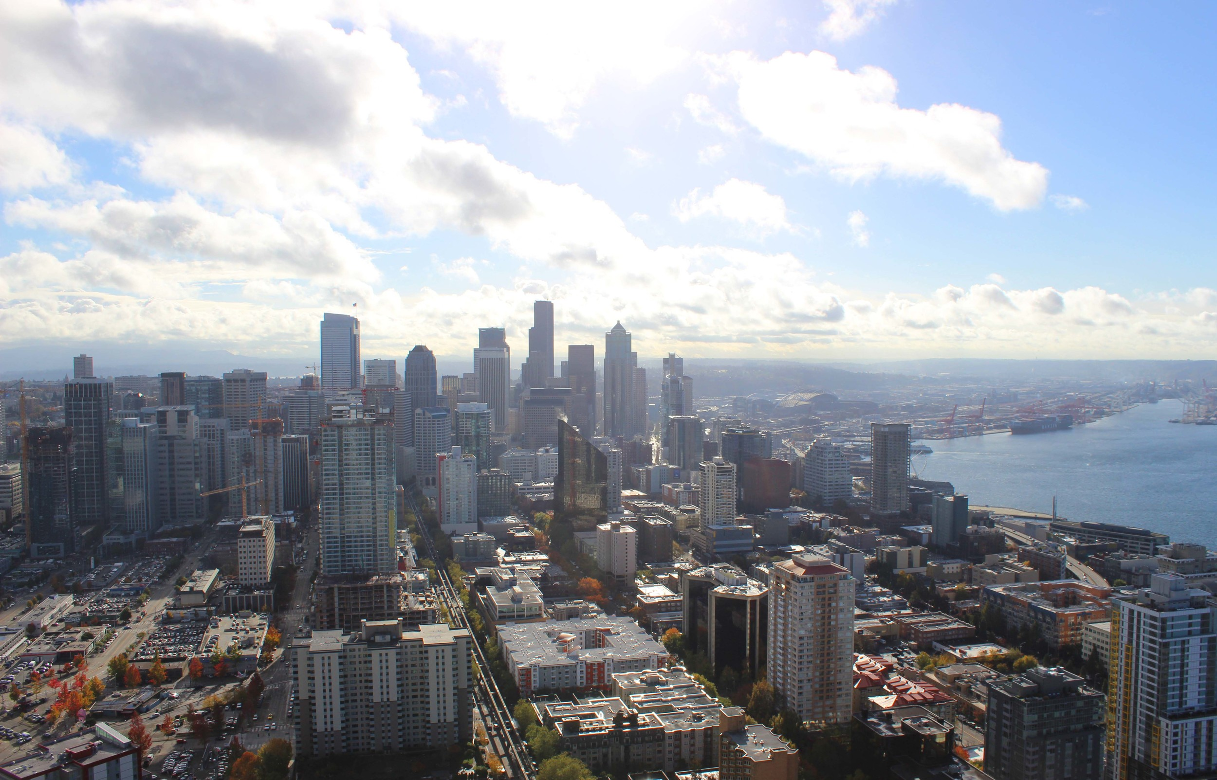 Seattle Skyline | Image: Laura Messersmith