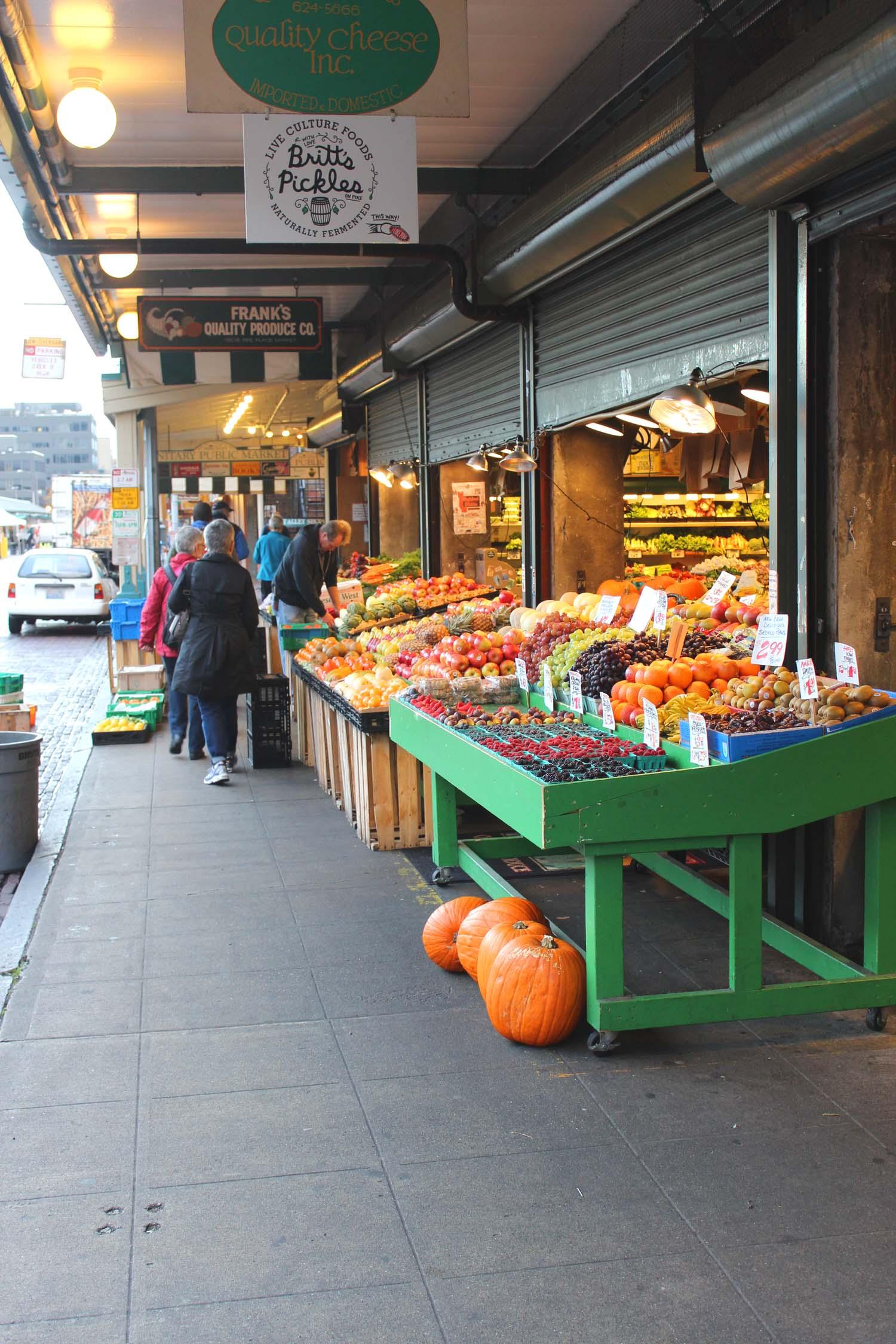 Pike Place Market, Seattle | Image: Laura Messersmith