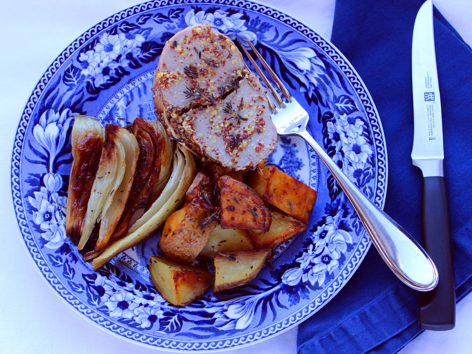 Roasted Pork Loin with Fennel  | Image:  Laura Messersmith