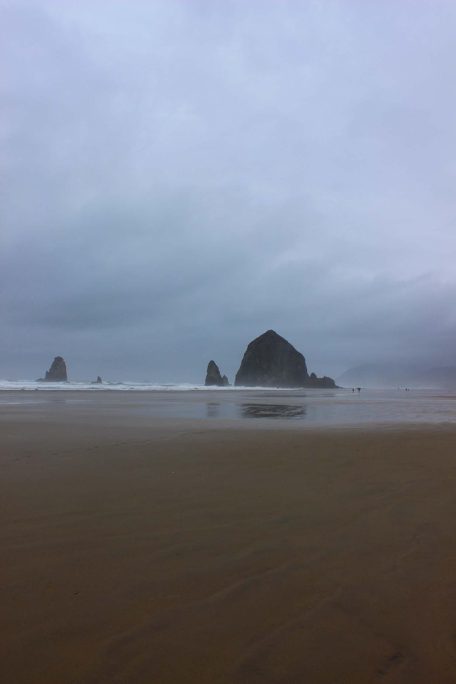 Haystack Rock, Cannon Beach, Oregon   Image:  Laura Messersmith