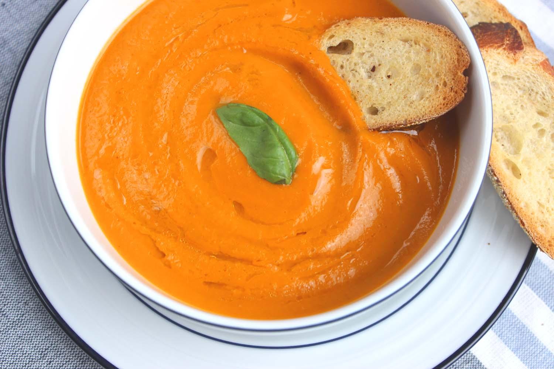 Cream of Fresh Tomato Soup  | Image:  Laura Messersmith