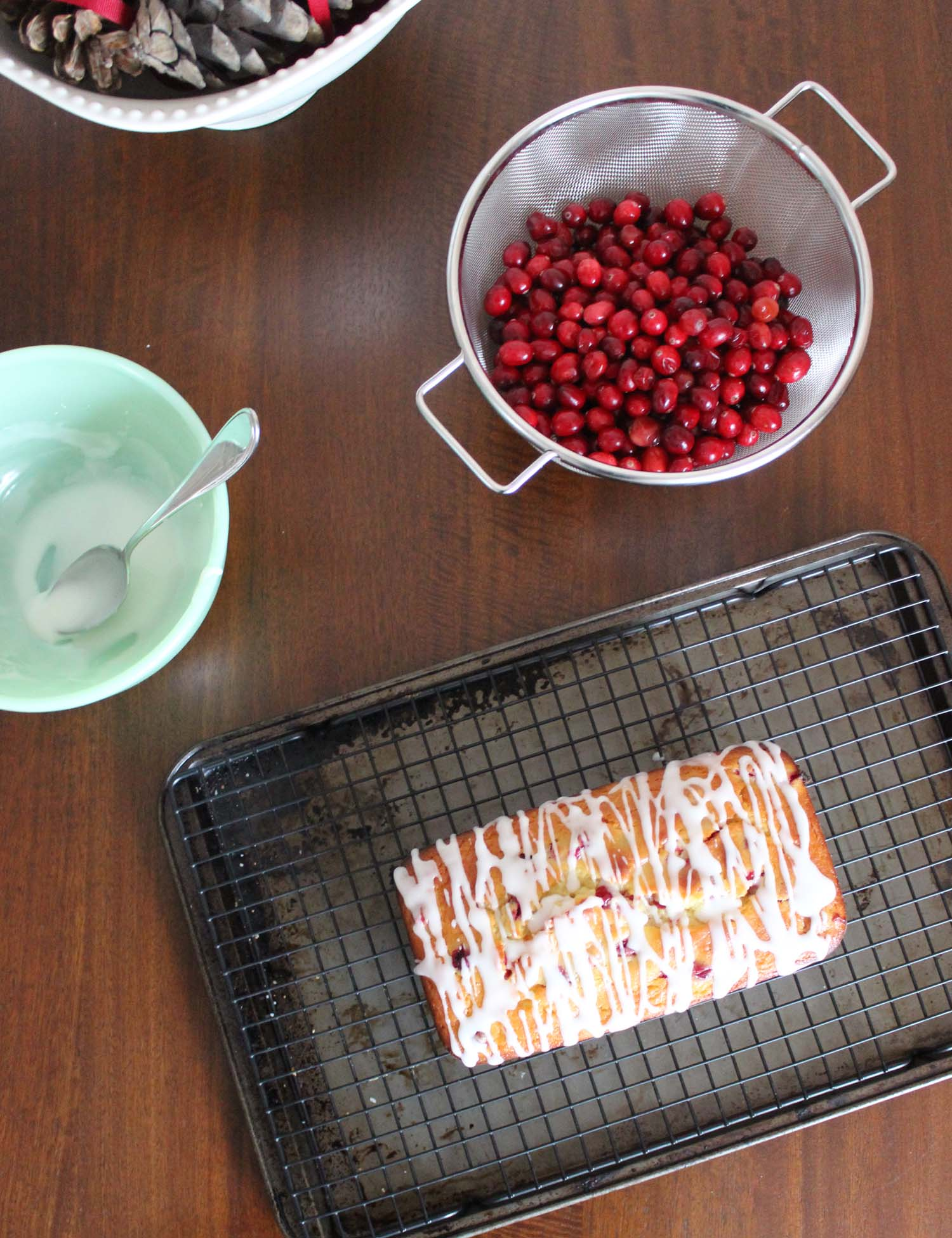 Lemon Cranberry Bread    | Image:   Laura Messersmith