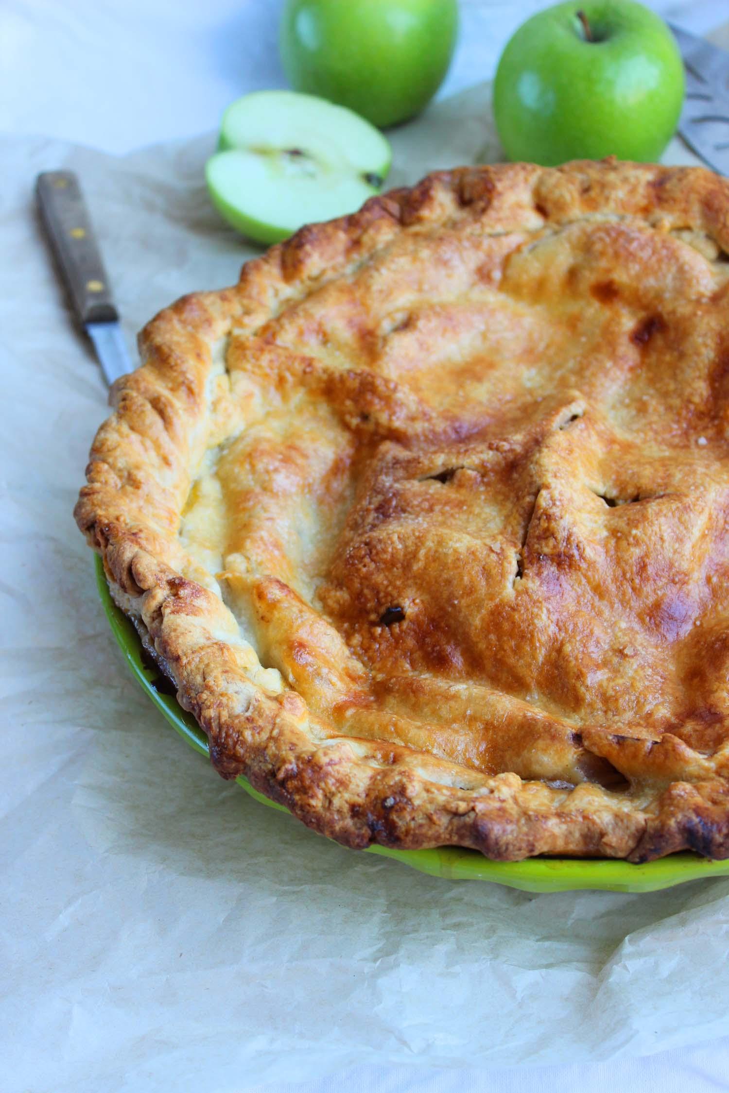 Deep Dish Apple Pie   Image: Laura Messersmith