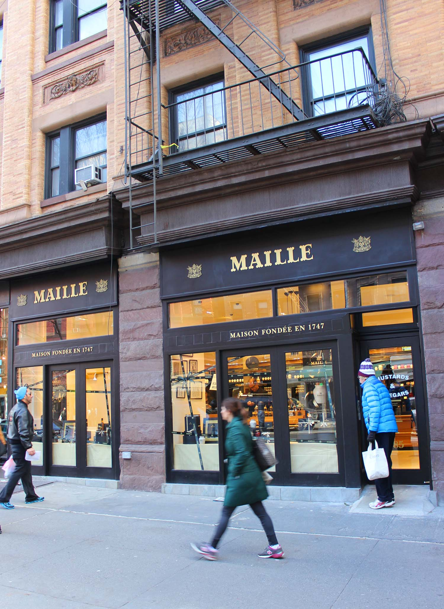 Maille New York   | Image:   Laura Messersmith