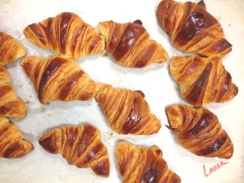 Croissants | Image: Laura Messersmith