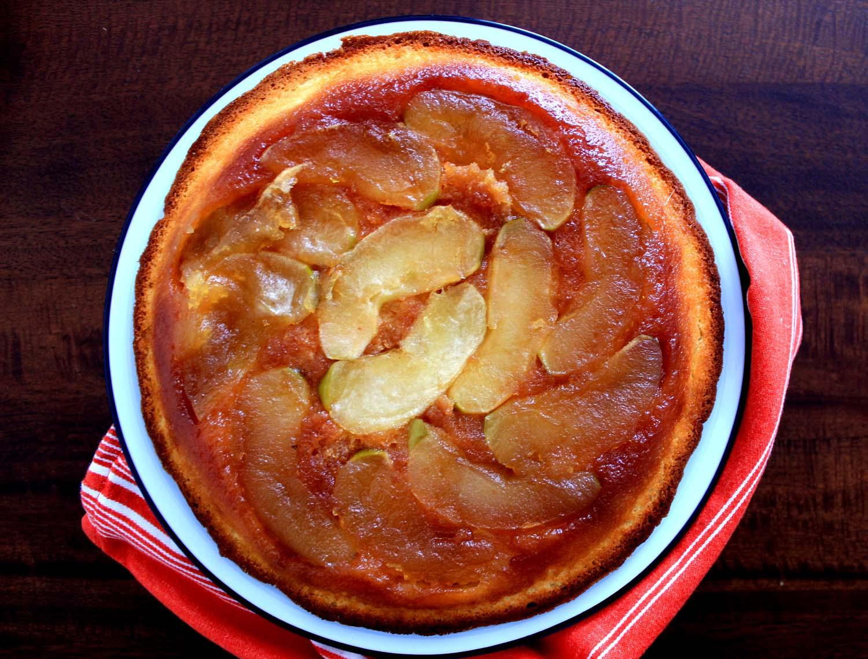 Apple Cake Tatin  | Image: Laura Messersmith