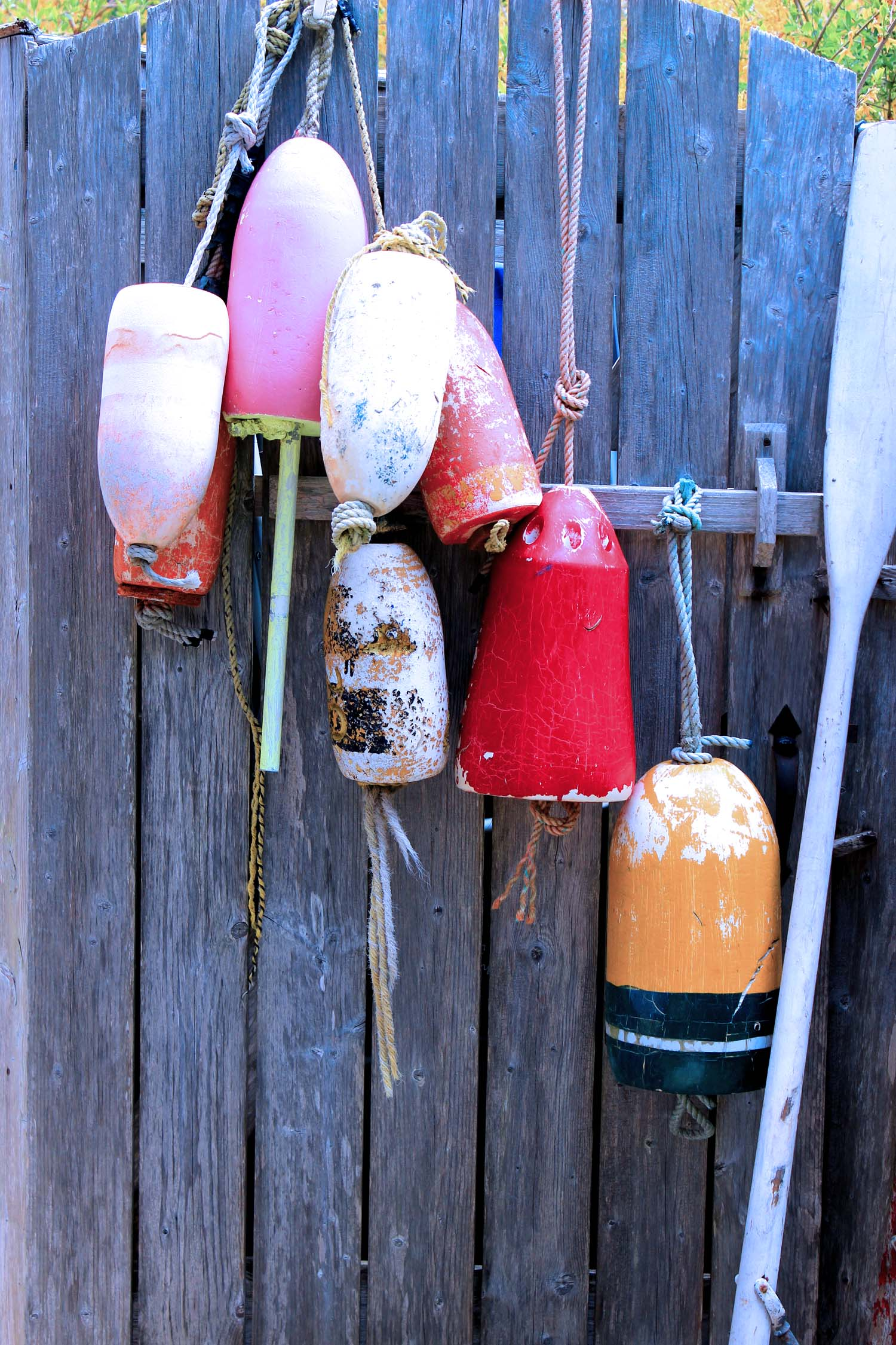 Weathered Rustic Buoys