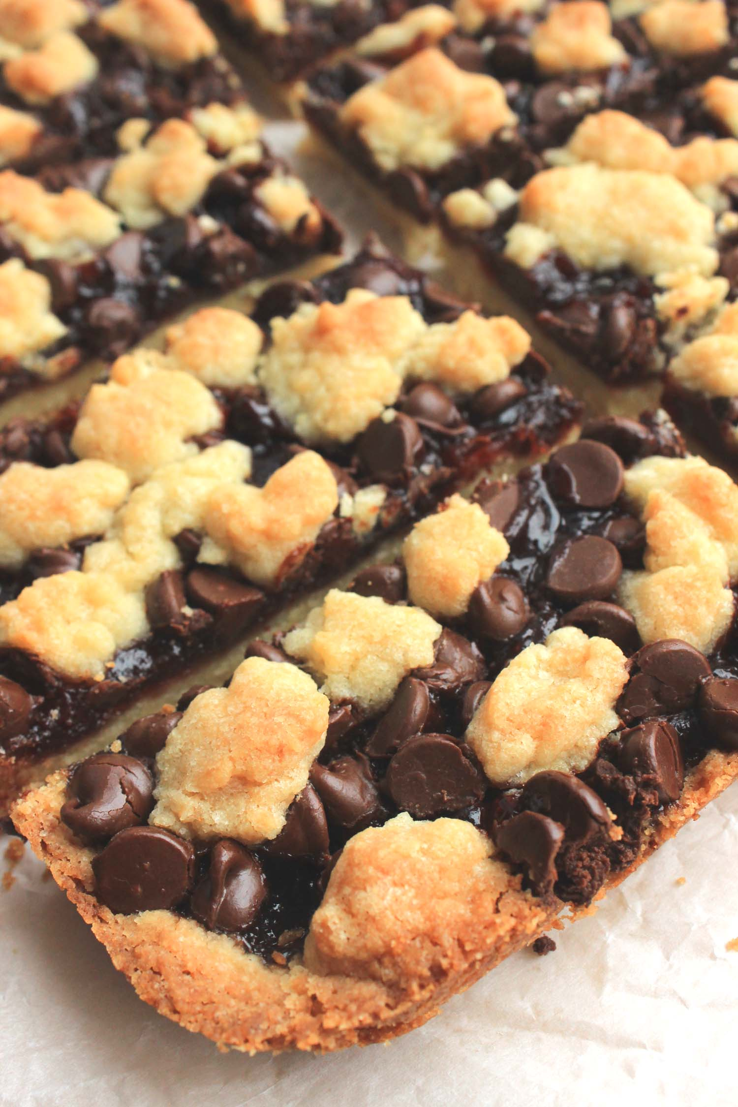 Black Forest Crumble Bars | Image: Laura Messersmith