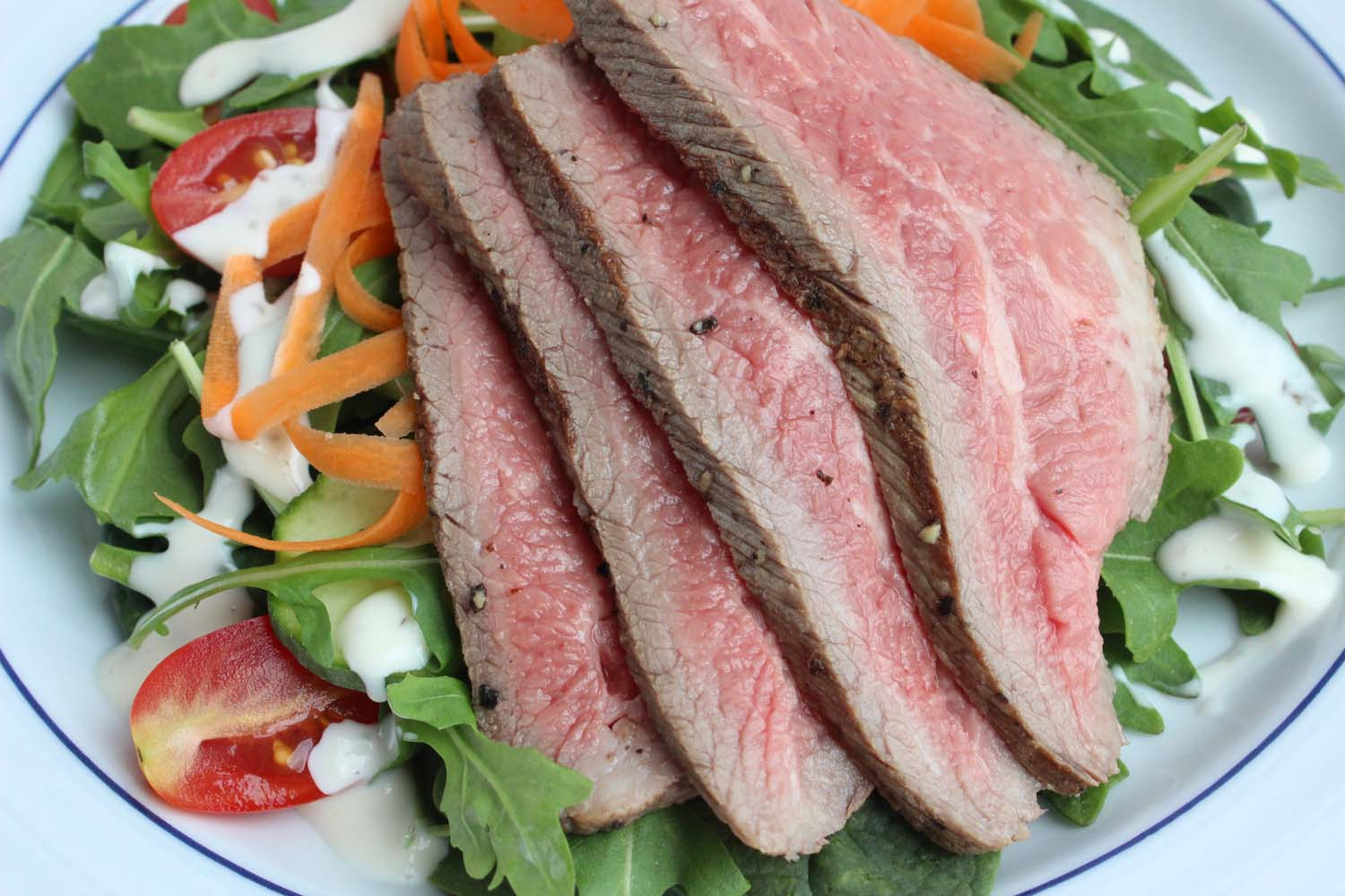 Memorial Day Steak Salad    | Image:   Laura Messersmith