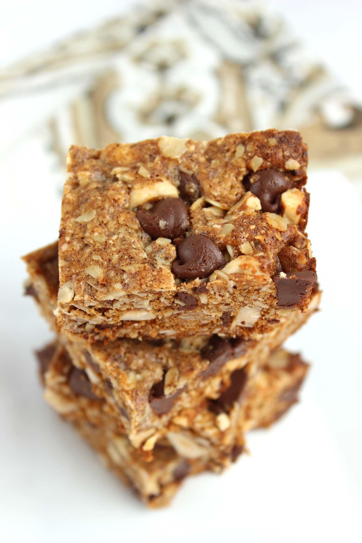 Mocha Hazelnut Granola Bars  | Image:  Laura Messersmith