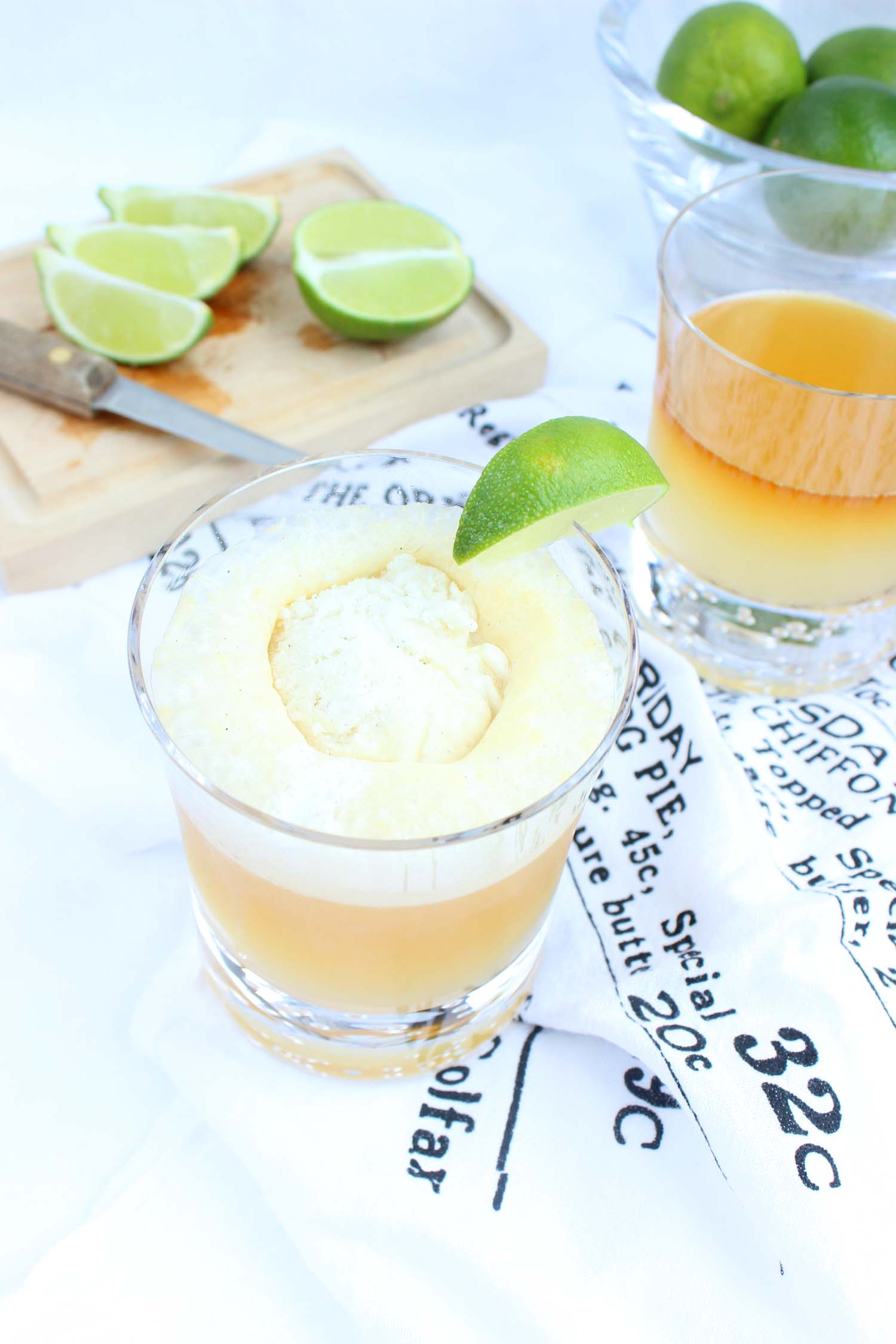Dark N Stormy Ice Cream Float   | Image:   Laura Messersmith