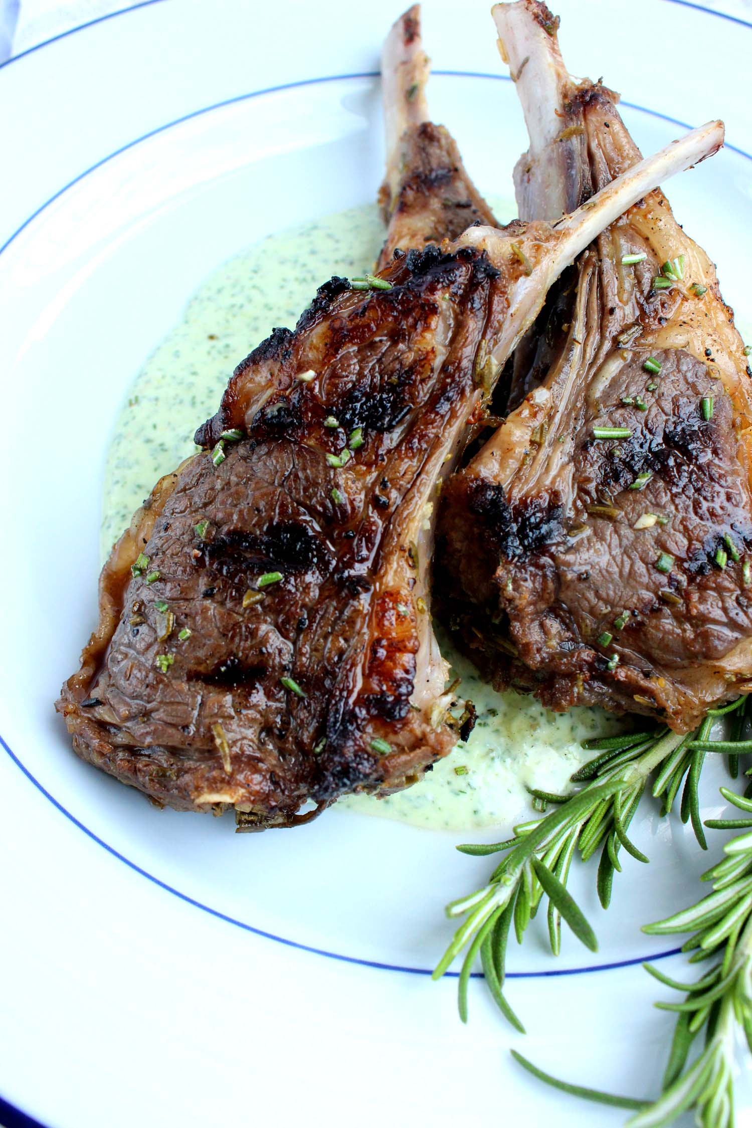 Greek Lamb with Yogurt Mint Sauce   Image:  Laura Messersmith