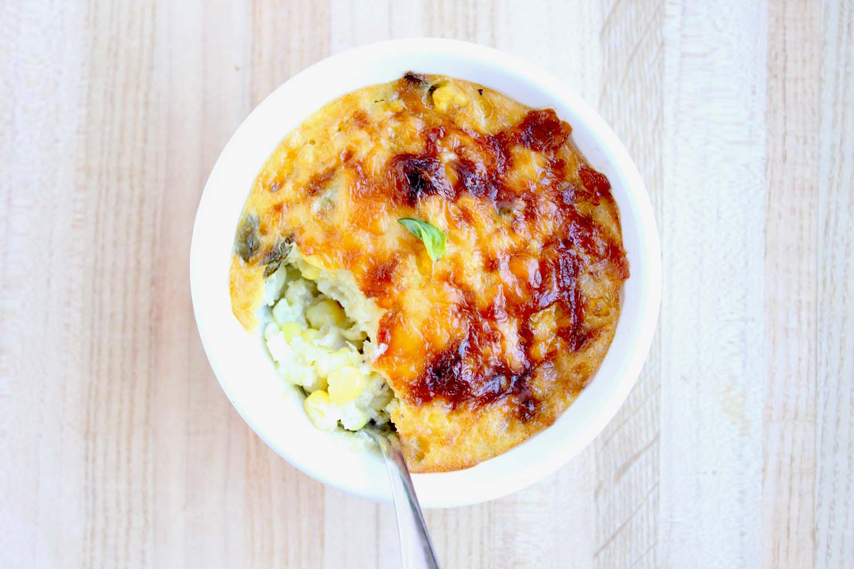 Sagaponack Corn Pudding    Image:  Laura Messersmith