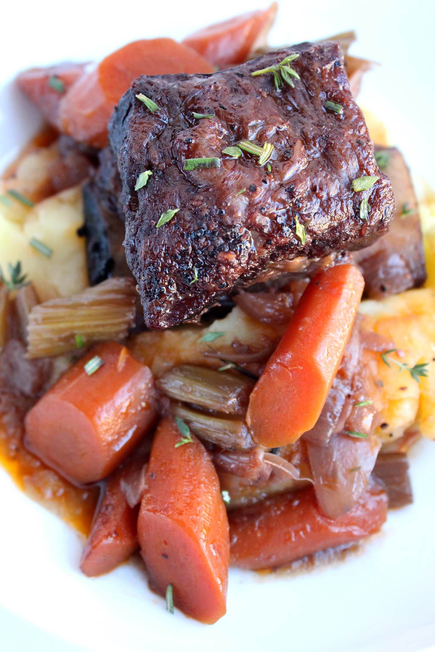 Braised Beef Short Ribs   | Image:   Laura Messersmith