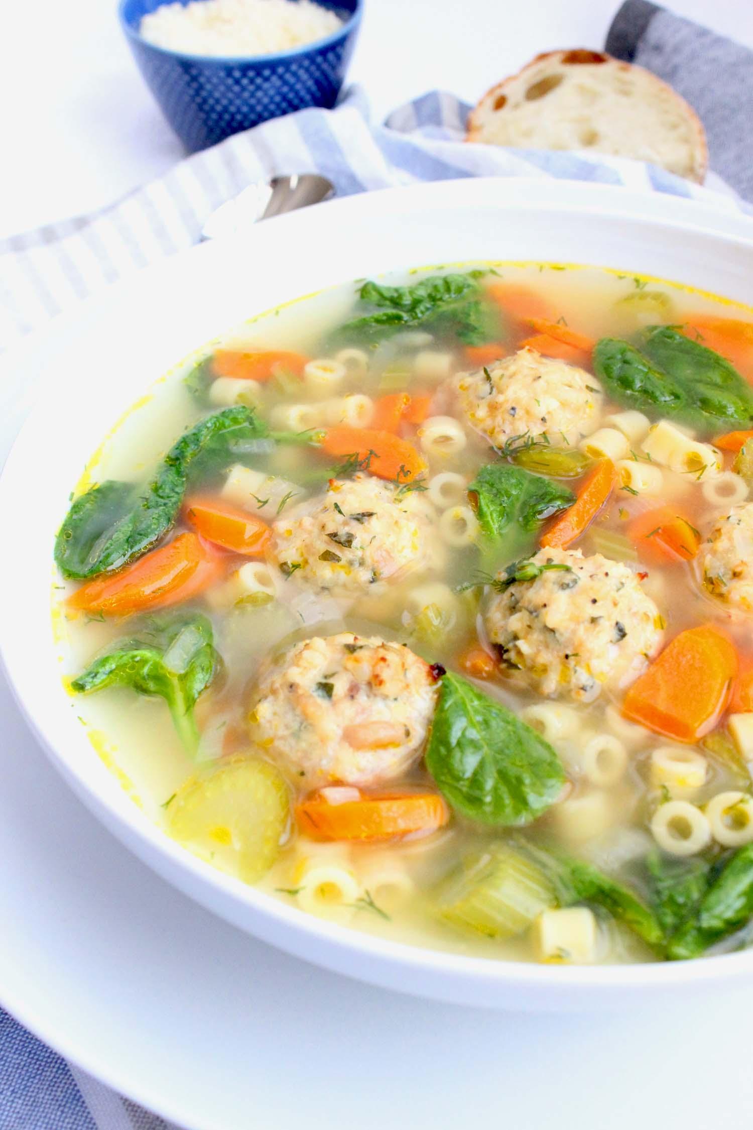 Italian Wedding Soup   Image: Laura Messersmith