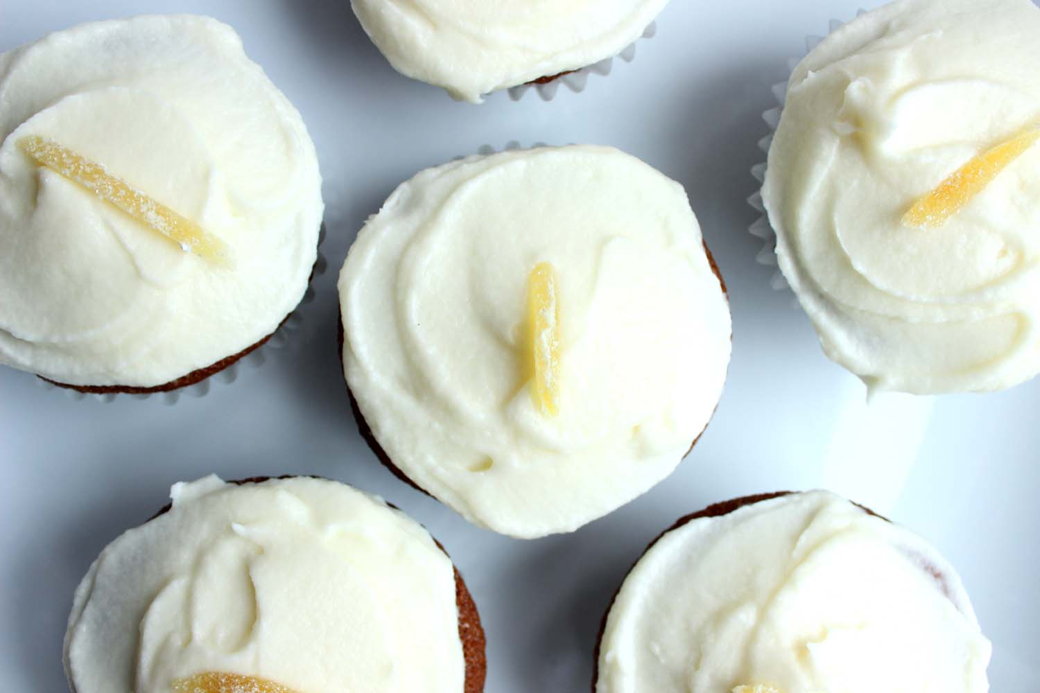 Lemon Ginger Molasses Cupcakes   | Image:   Laura Messersmith