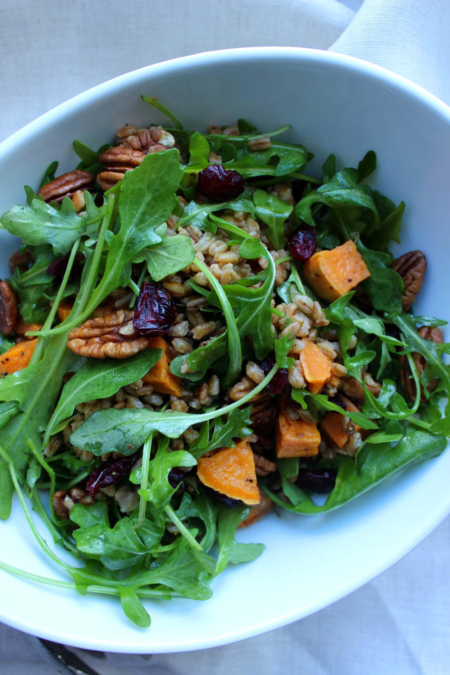 Harvest Farro Salad | Image:  Laura Messersmith