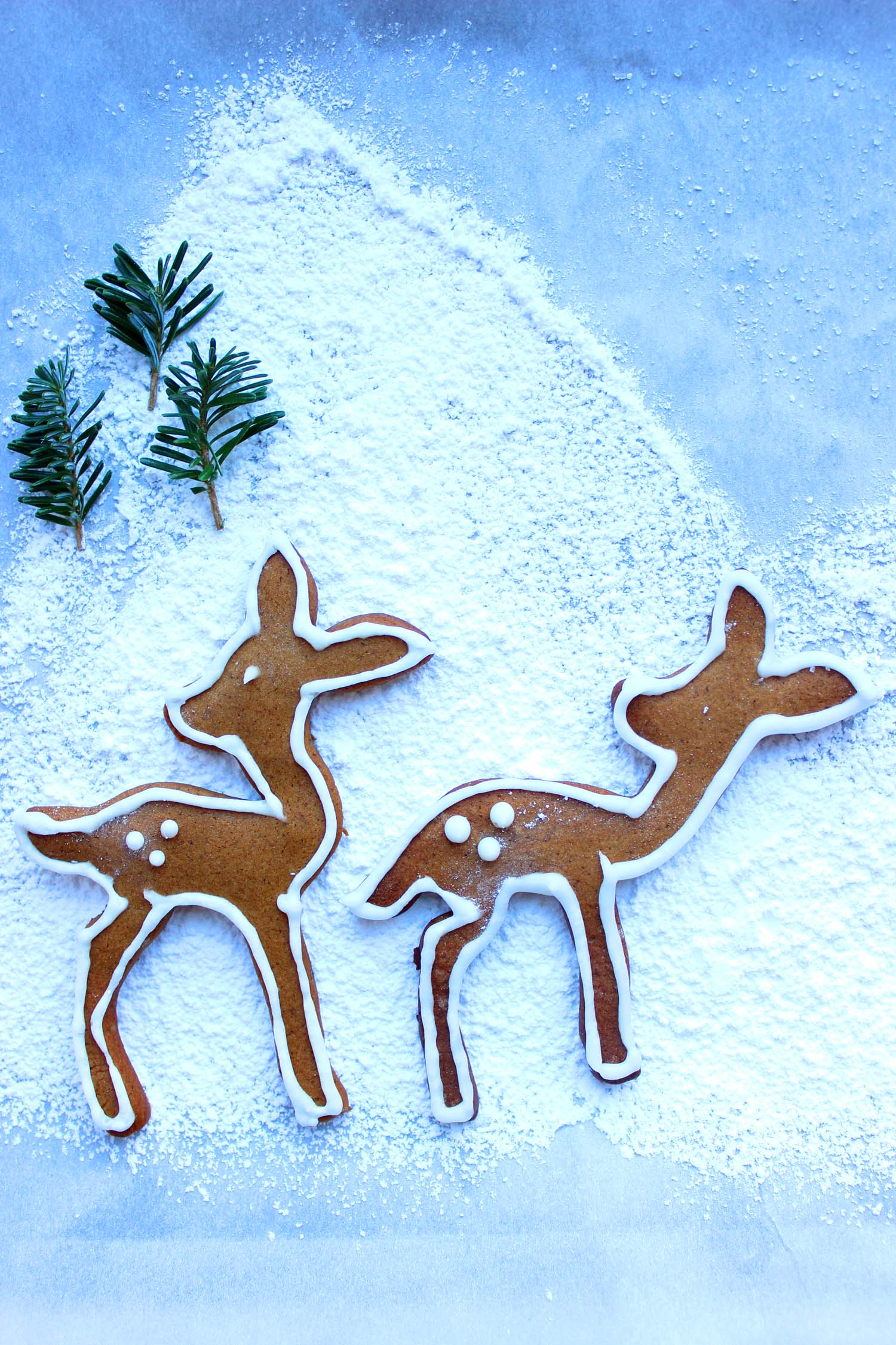 Woodland Gingerbread Cookies   | Image:   Laura Messersmith