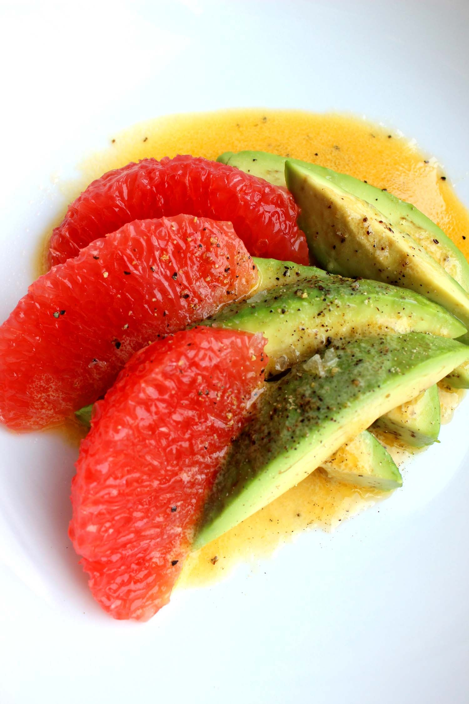 Avocado and Grapefruit Salad   | Image:   Laura Messersmith